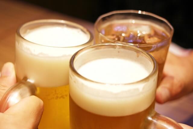 むくみの原因の飲酒